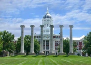 University of Missouri, Columbia Gre score