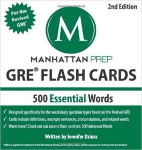 manhattan prep gre flash cards review