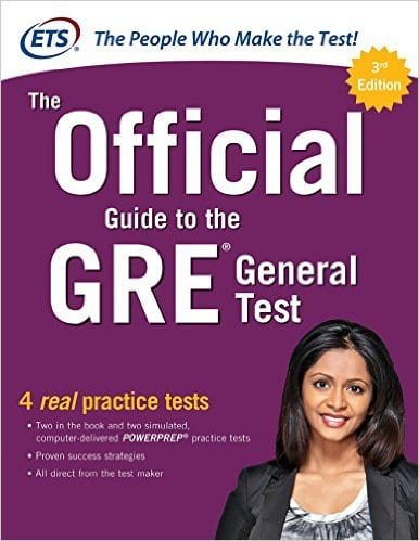 official guide to the gre general test prep book review