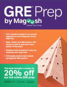 GRE Prep by Magoosh book review