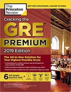 cracking the gre 2019 review