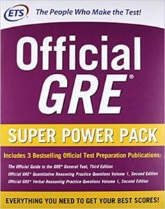 official gre super power pack 2nd edition