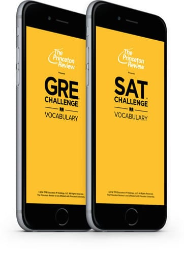 Application for GRE prep
