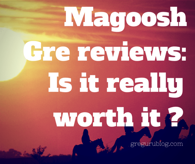 Magoosh Gre reviews