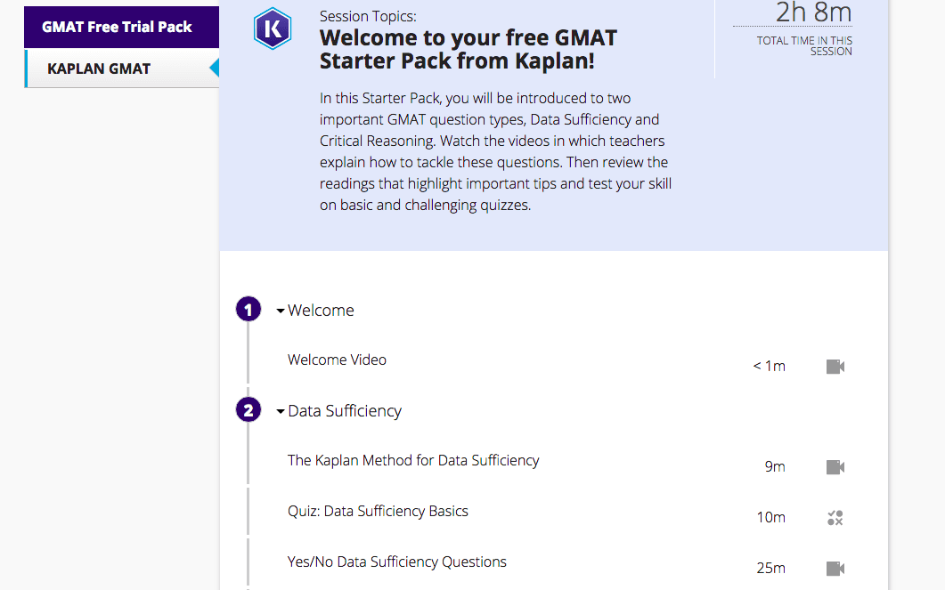 UPDATED ] 2019 Kaplan GMAT Prep Course - Full Review + Discounts